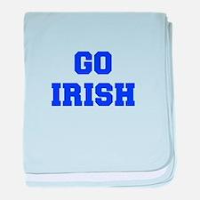 Irish-Fre blue baby blanket