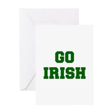 Irish-Fre dgreen Greeting Cards