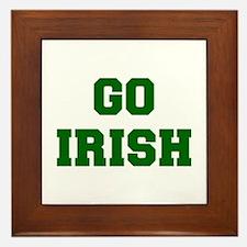 Irish-Fre dgreen Framed Tile