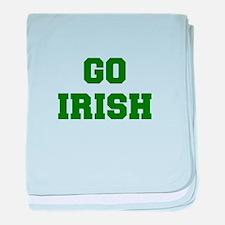 Irish-Fre dgreen baby blanket