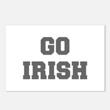 IRISH-Fre gray Postcards (Package of 8)