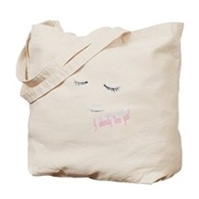 Already love you pink Tote Bag