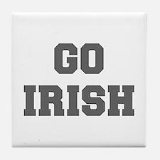 IRISH-Fre gray Tile Coaster