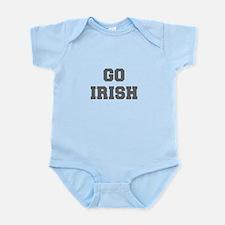 IRISH-Fre gray Body Suit