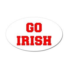 IRISH-Fre red Wall Decal