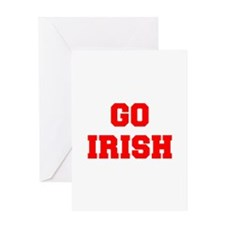 IRISH-Fre red Greeting Cards