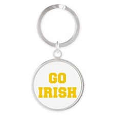 Irish-Fre yellow gold Keychains