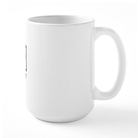 Eat, Sleep, Soccer Large Mug
