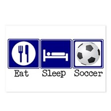 Eat, Sleep, Soccer Postcards (Package of 8)