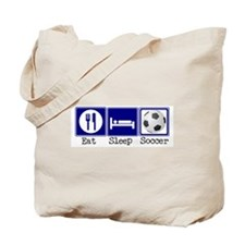 Eat, Sleep, Soccer Tote Bag