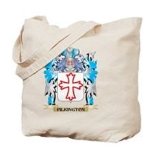 Pilkington Coat of Arms - Family Crest Tote Bag