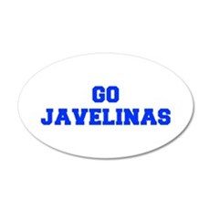 Javelinas-Fre blue Wall Decal