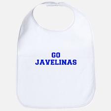 Javelinas-Fre blue Bib