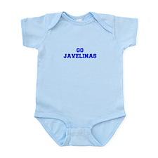 Javelinas-Fre blue Body Suit