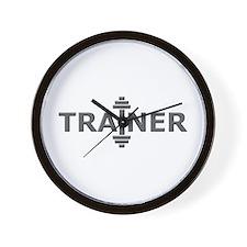Trainer Metal Wall Clock
