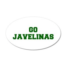 Javelinas-Fre dgreen Wall Decal