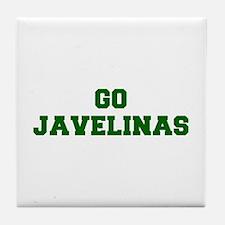 Javelinas-Fre dgreen Tile Coaster