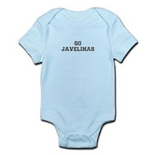 JAVELINAS-Fre gray Body Suit