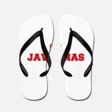 JAVELINAS-Fre red Flip Flops