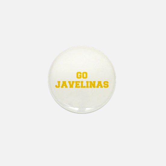 Javelinas-Fre yellow gold Mini Button