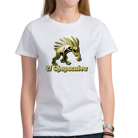 Chupacabra Yellow Women's T-Shirt