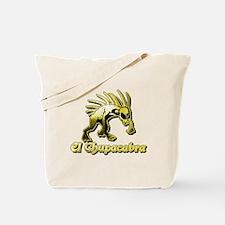 Chupacabra Yellow Tote Bag