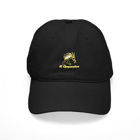 Chupacabra Yellow Black Cap