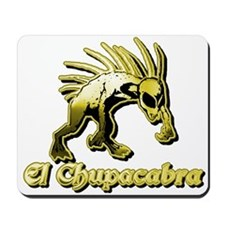 Chupacabra Yellow Mousepad