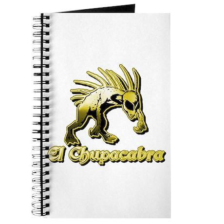 Chupacabra Yellow Journal