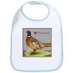 We Love Pheasants! Bib