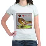 We Love Pheasants! Jr. Ringer T-Shirt