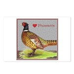 We Love Pheasants! Postcards (Package of 8)