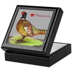 We Love Pheasants! Keepsake Box