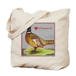 We Love Pheasants! Tote Bag