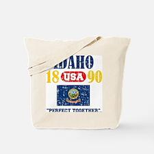 "IDAHO / USA 1890 STATEHOOD ""PERFECT TOGET Tote Bag"