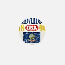 """IDAHO / USA 1890 STATEHOOD """"PERFECT TO Mini Button"""