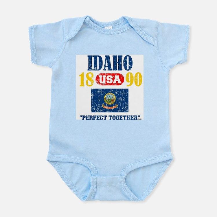 "IDAHO / USA 1890 STATEHOOD ""PERFECT TOGE Body Suit"