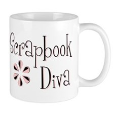 Scrapbook Diva Small Mugs