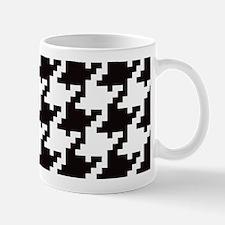 Pixel Houndstooth Mugs