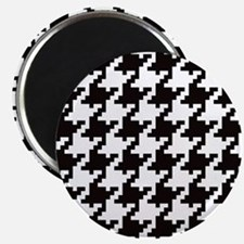 Pixel Houndstooth Magnets