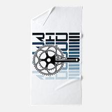 cycling-01 Beach Towel