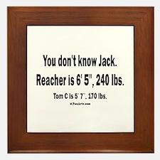 You Dont Know Jack Framed Tile
