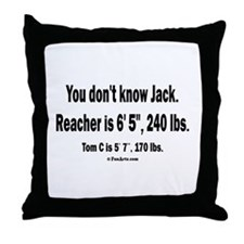 You Dont Know Jack Throw Pillow