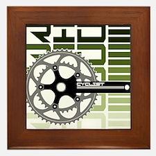 cycling-03 Framed Tile