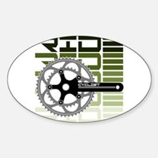 cycling-03 Decal