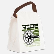 cycling-03 Canvas Lunch Bag