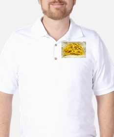 Chips Served in Paper T-Shirt