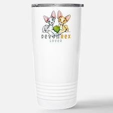 Devon Rex Lover Travel Mug