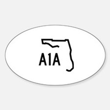 FLORIDA COASTAL ROUTE A1A Decal