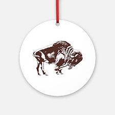 Love Buffalo Ornament (Round)
